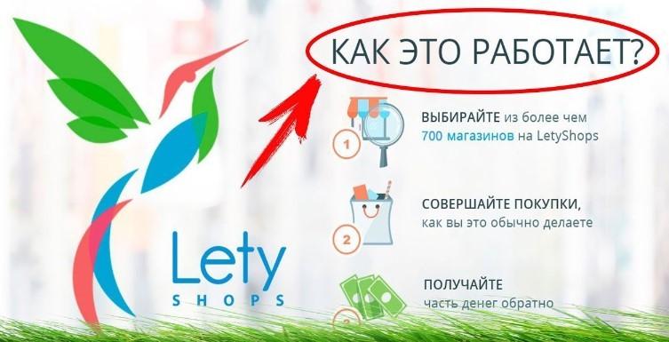 Кэшбэк от LetyShops